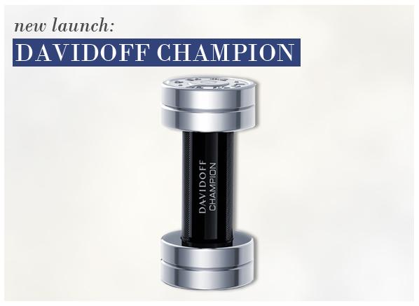 New launch Davidoff Champion eau de toilette