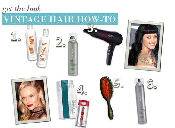 A Vintage Hair How-To