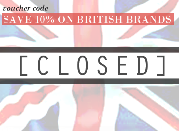 SAVE 10% On Brit Brands