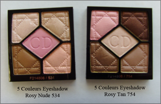 5 Couleurs Summer Rosy Nude Rosy Tan Eye Shadow