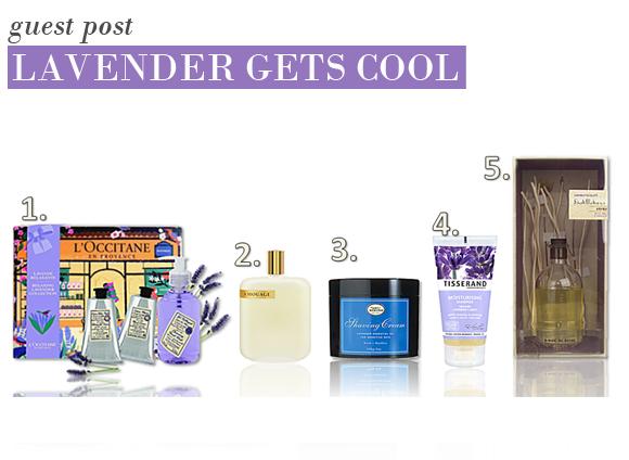 Lavender Gets Cool