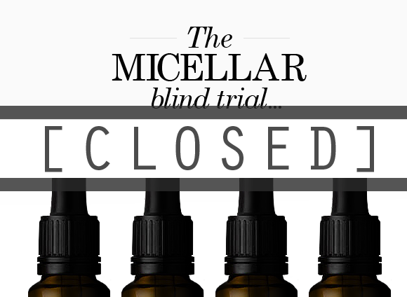 Micellar Water Closed