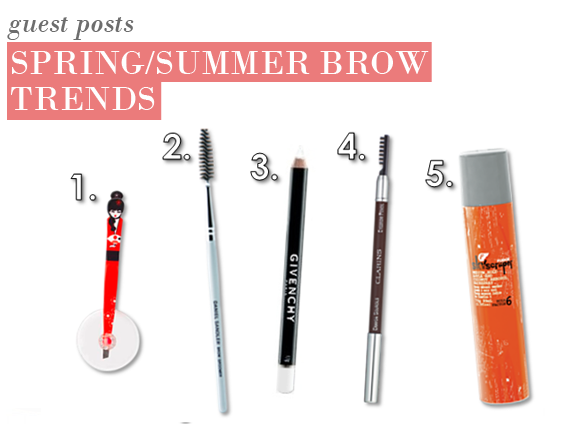Brow Trends for Spring/Summer 2011
