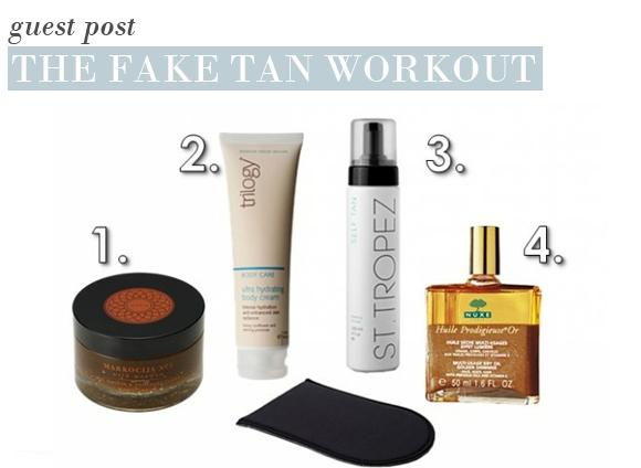 The Fake Tan Workout