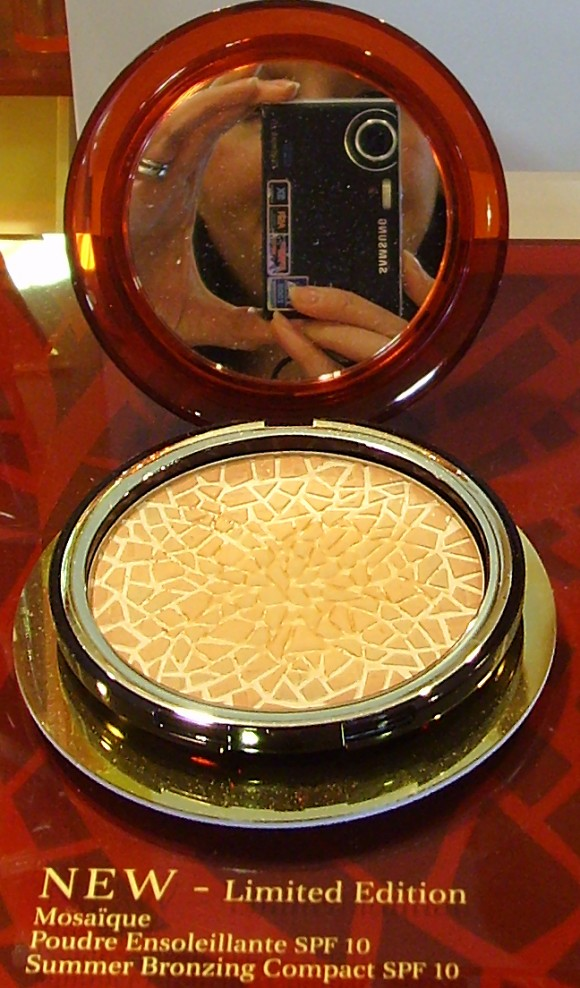 Clarins Mosaique Bronzing Compact Swatch
