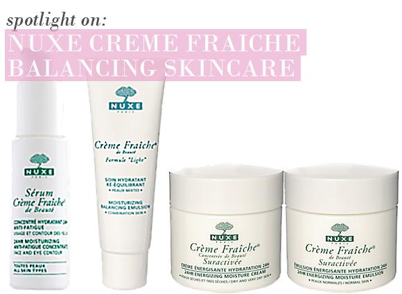 Nuxe Creme Fraiche Skincare