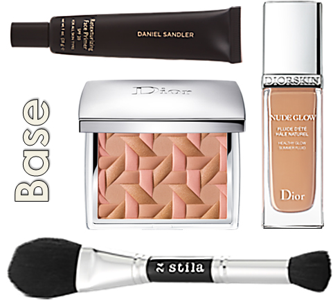 Dior Summer Fluid Rosy Glow Honey Glow Summer Glow Powder Stila #24 Brush Daniel Sandler Retexturising Primer Retexturizing