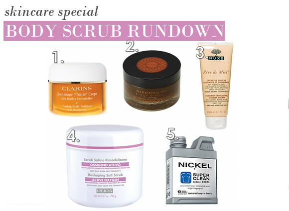A Body Scrub Rundown