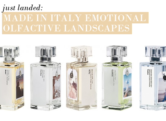 Just Landed: Made In Italy Emotional Olfactory Landscapes