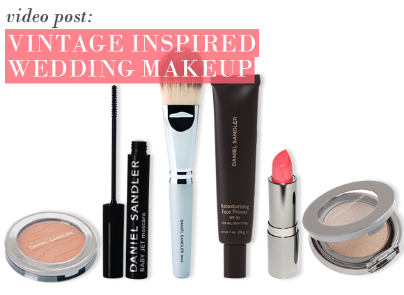 VIntage Inspired Wedding Makeup