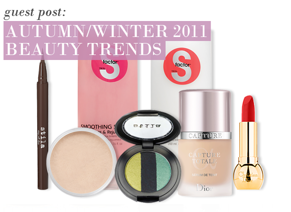 Autumn/Winter 2011 Beauty Trends