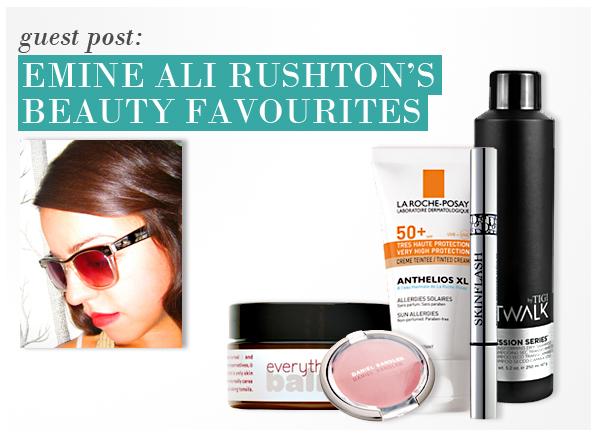 Guest Post: Emine Ali Rushton's Beauty Favourites - Escentual's