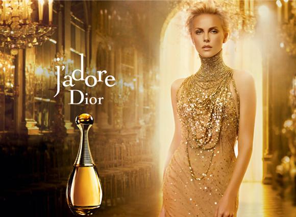 A VIP Dior Advert Line-up