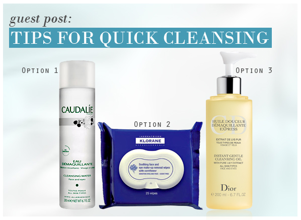 Tips for Quick Cleansing