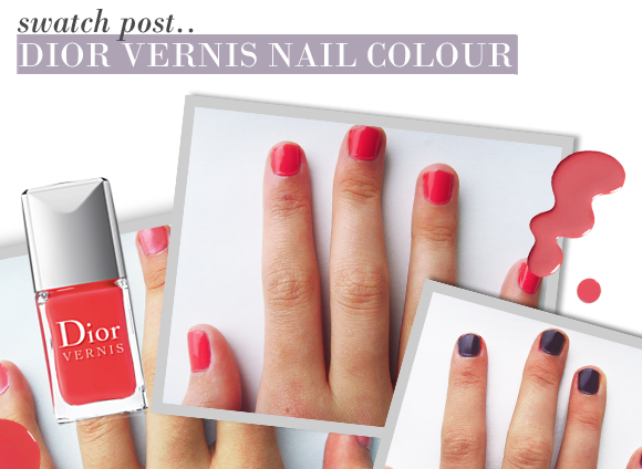 Dior Vernis Nail Varnish Swatches - Escentual\'s Beauty Buzz