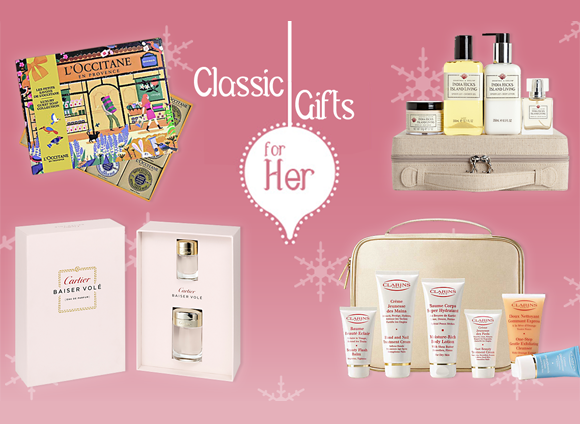 Classic Christmas Gifts for Her