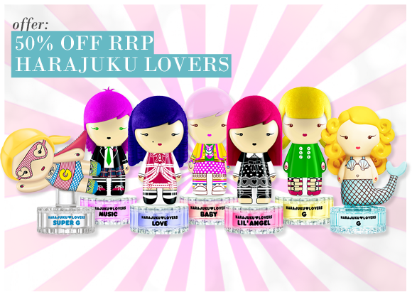 50% Off Harajuku Lovers
