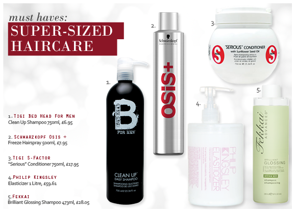 Super-Sized Haircare Offers