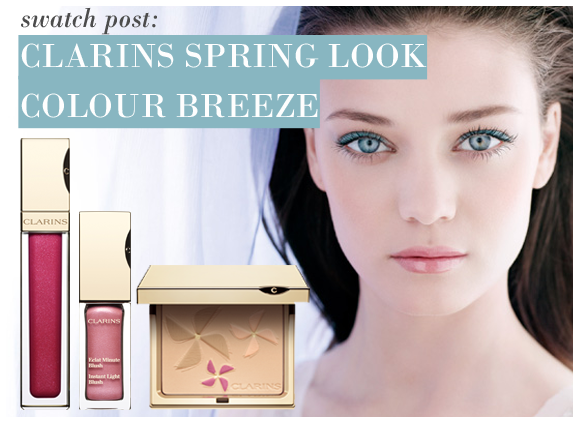 Clarins Colour Breeze Spring Makeup