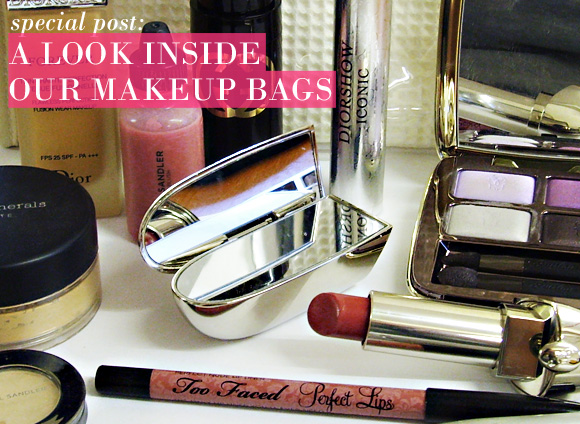 Inside Our Makeup Bags