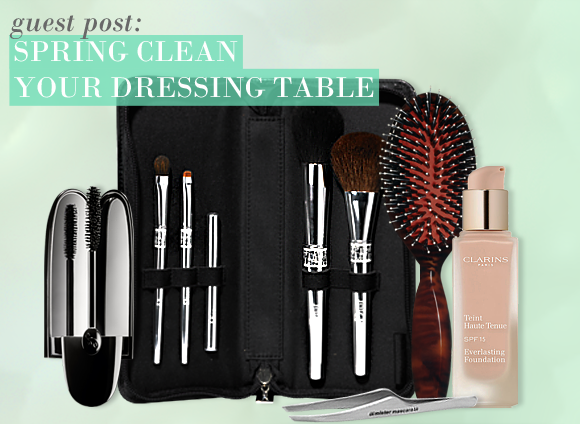 Spring Clean Your Dressing Table