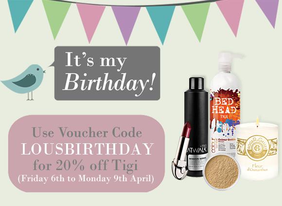 Lou's Birthday Voucher Code