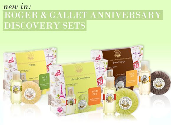 Roger & Gallet Anniversary Sets