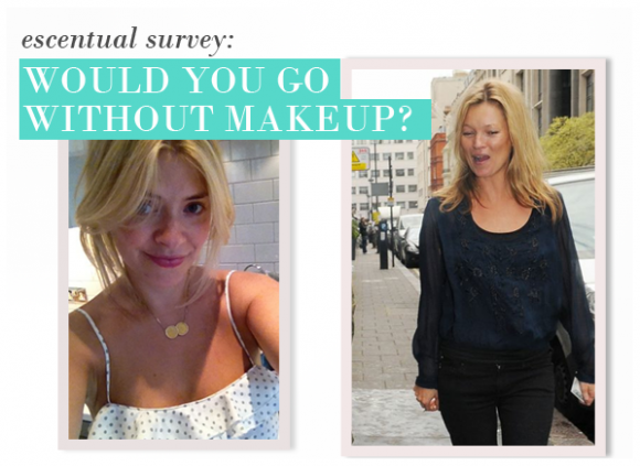 Would you go out without make-up?