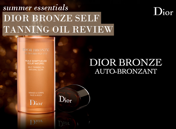 Dior Tanning Oil Mist