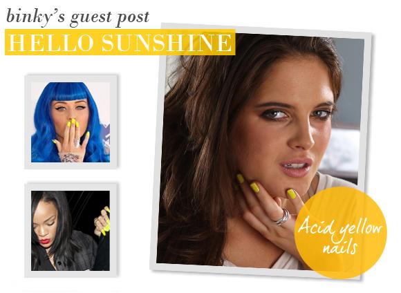 Binky Felstead's Beauty Guest Post   Hello Sunshine - Escentual's