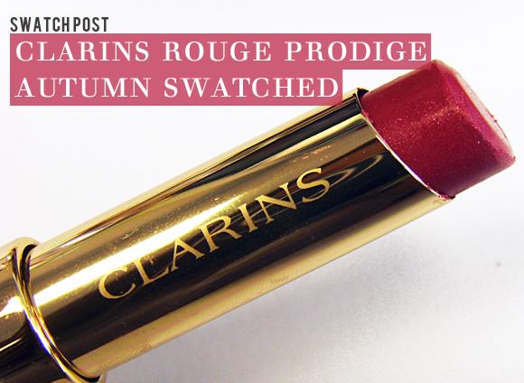 Clarins Rouge Prodige Autumn