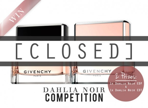 Givenchy Dahlia Noir Competition