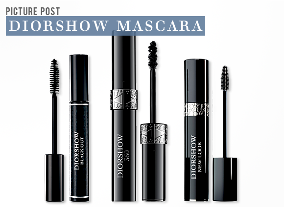 a closer look at the dior diorshow mascara collection escentual 39 s beauty buzz. Black Bedroom Furniture Sets. Home Design Ideas