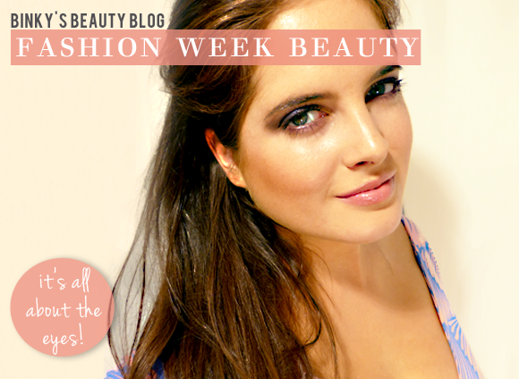 Binky's Fashion Week Beauty