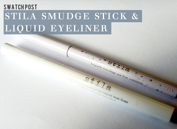 Stila White Eyeliner Swatches