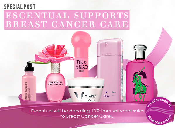 Escentual Supports Breast Cancer Care