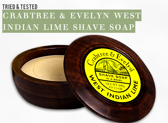 Crabtree & Evelyn Shave Soap Review