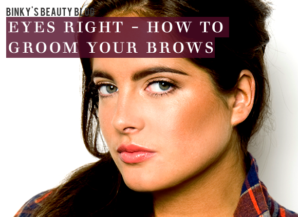 Eyes Right Brow Grooming