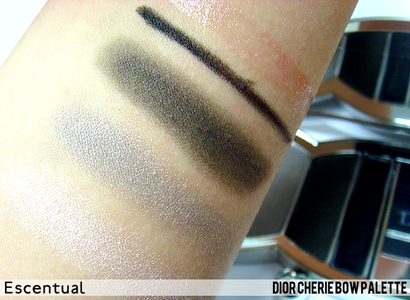 Cherie Bow Palette Swatched - Dior Cherie Bow Makeup Collection