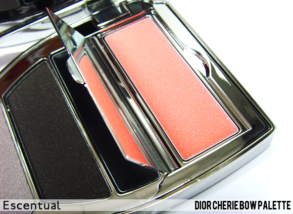 Cherie Bow Palette Trap Door Open - Dior Cherie Bow Makeup Collection