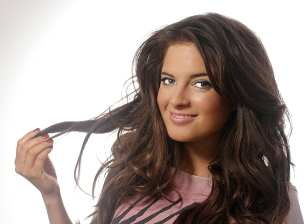 binky how to turn flat hair to nighttime hair