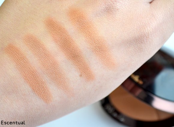 Guerlain Terracotta 4 Seasons Powder Swatched