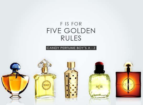 F is for Five Golden Rules