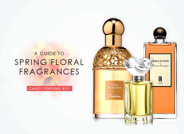 Spring Floral Fragrances