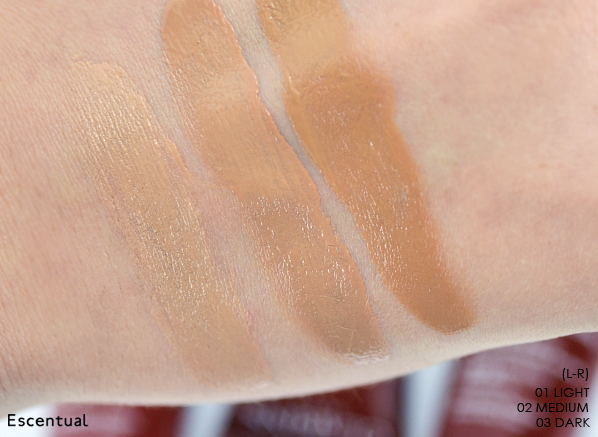 Clarins BB Cream Swatched Blended