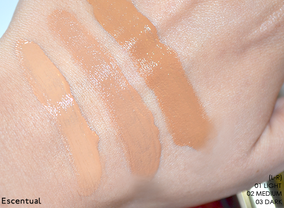 Clarins BB Skin Perfecting Cream Swatched