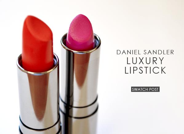 Daniel Sandler Luxury Lipstick Banner