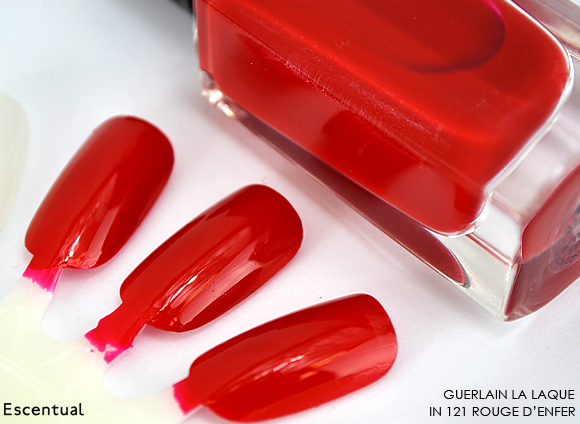 Guerlain La Laque 121 Rouge d'Enfer
