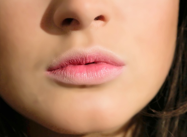 Binky Ombre Lips Close Up