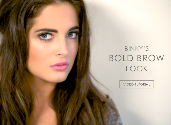 Binky's Bold Brow Tutorial
